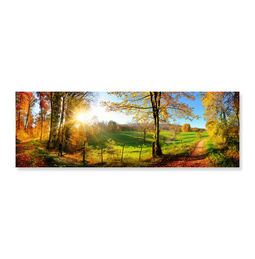 Meadow Sunrise 1000-Piece Cardboard Jigsaw Puzzle