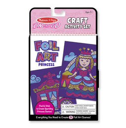 On-the-Go Crafts - Foil Art Princesses
