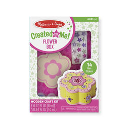 Decorate-Your-Own Wooden Flower Box