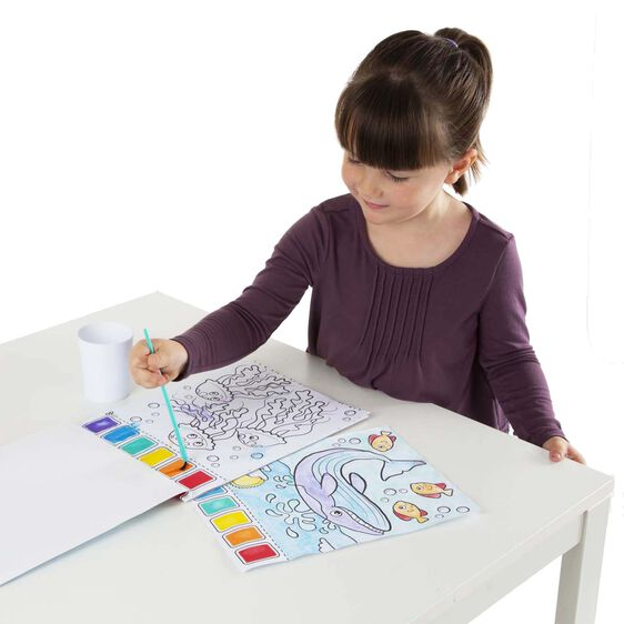 ocean paint with water kids art pad - Paint With Water Coloring Books