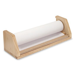 Wooden Tabletop Paper Roll Dispenser