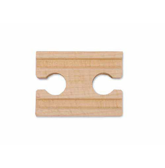 "2"" Wooden Straight Track - Female (6 pack)"