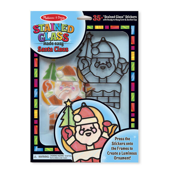 Stained Glass Made Easy - Santa Claus