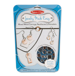 Jewelry Made Easy - Mixed Metal Earrings, Necklaces & Bracelets