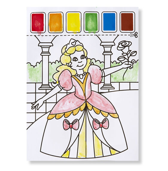 Pink Paint with Water Kids\' Art Pad