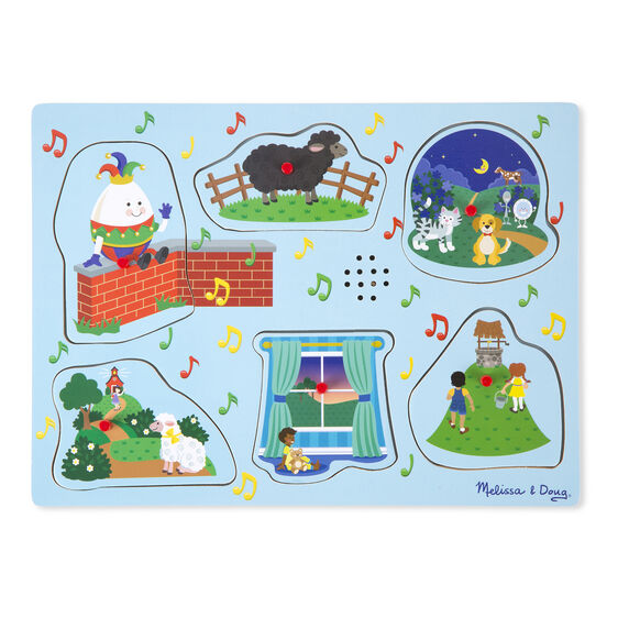 Sing Along Nursery Rhymes Sound Puzzle