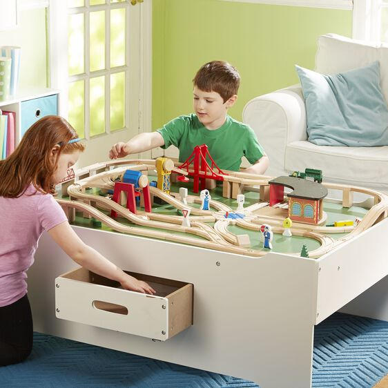Multi Activity Train Table