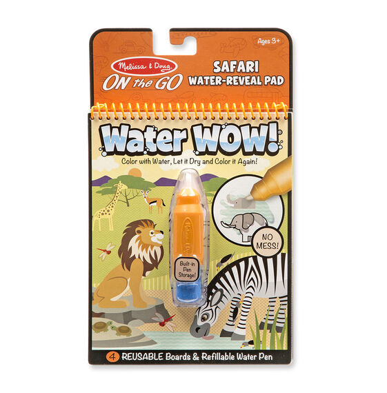 Water Wow! - Safari Water Reveal Pad - ON the GO Travel Activity