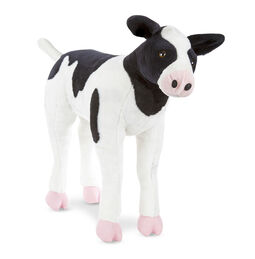 Calf Lifelike Stuffed Animal
