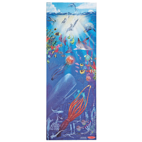 Under the sea floor puzzle 100 pieces for 100 piece floor puzzles