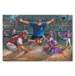 Close Call! Baseball Floor Puzzle - 48 Pieces