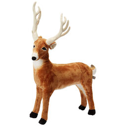 Lifelike Plush Deer