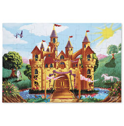 Fairy Tale Castle Floor Puzzle - 48 Pieces