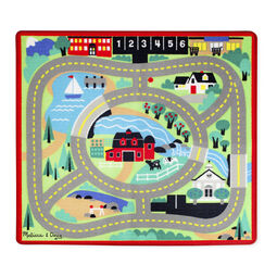 Round The Town Road Rug Car Set