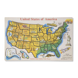 USA Map Puzzle - Usa map picture