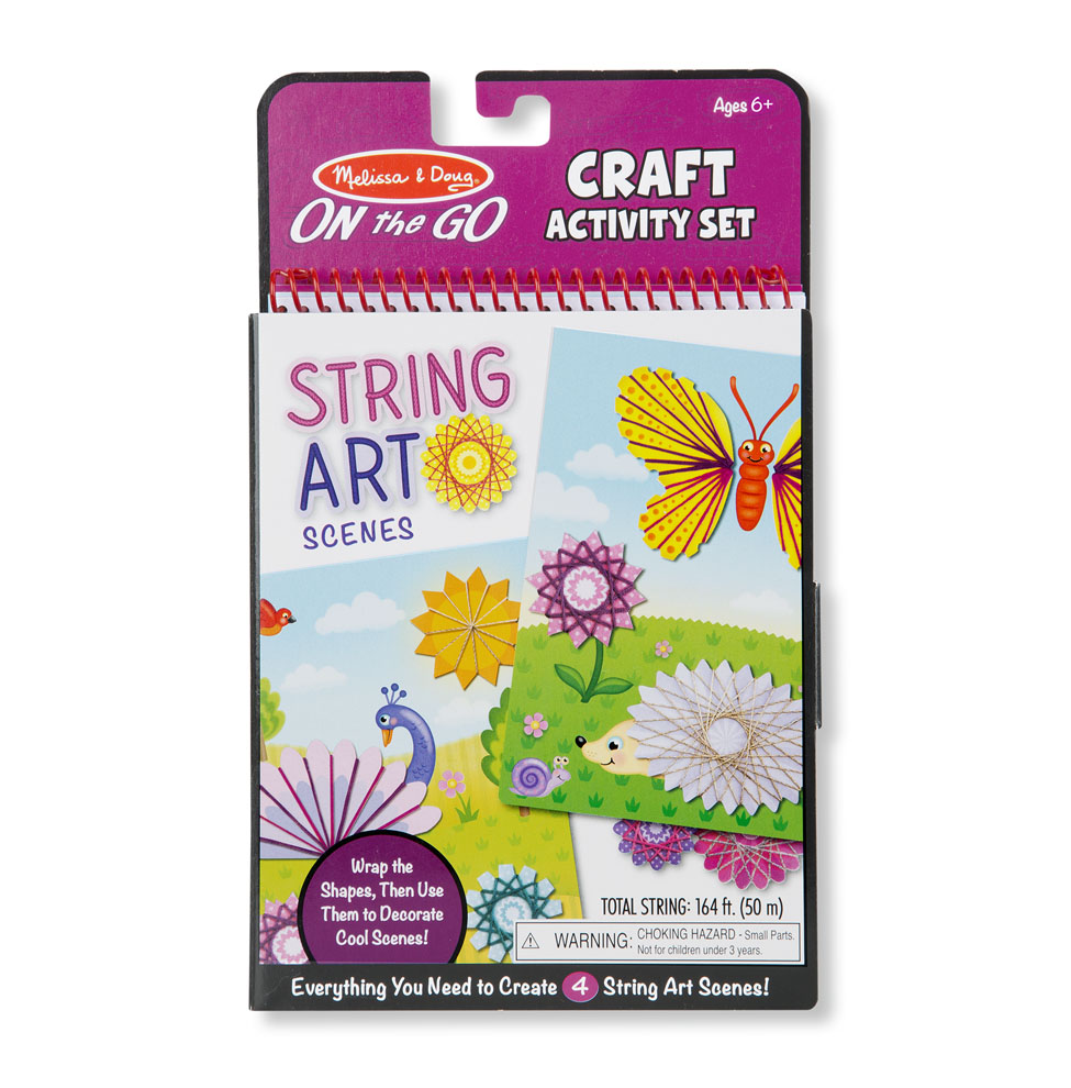 On-the-Go Crafts - String Art Scenes Activity Set 9458
