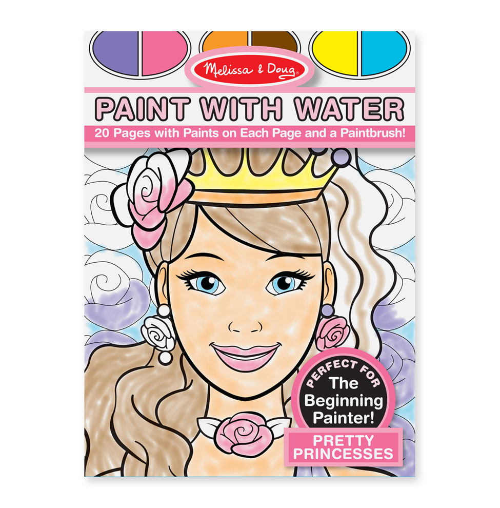 Paint with Water  Pretty Princesses