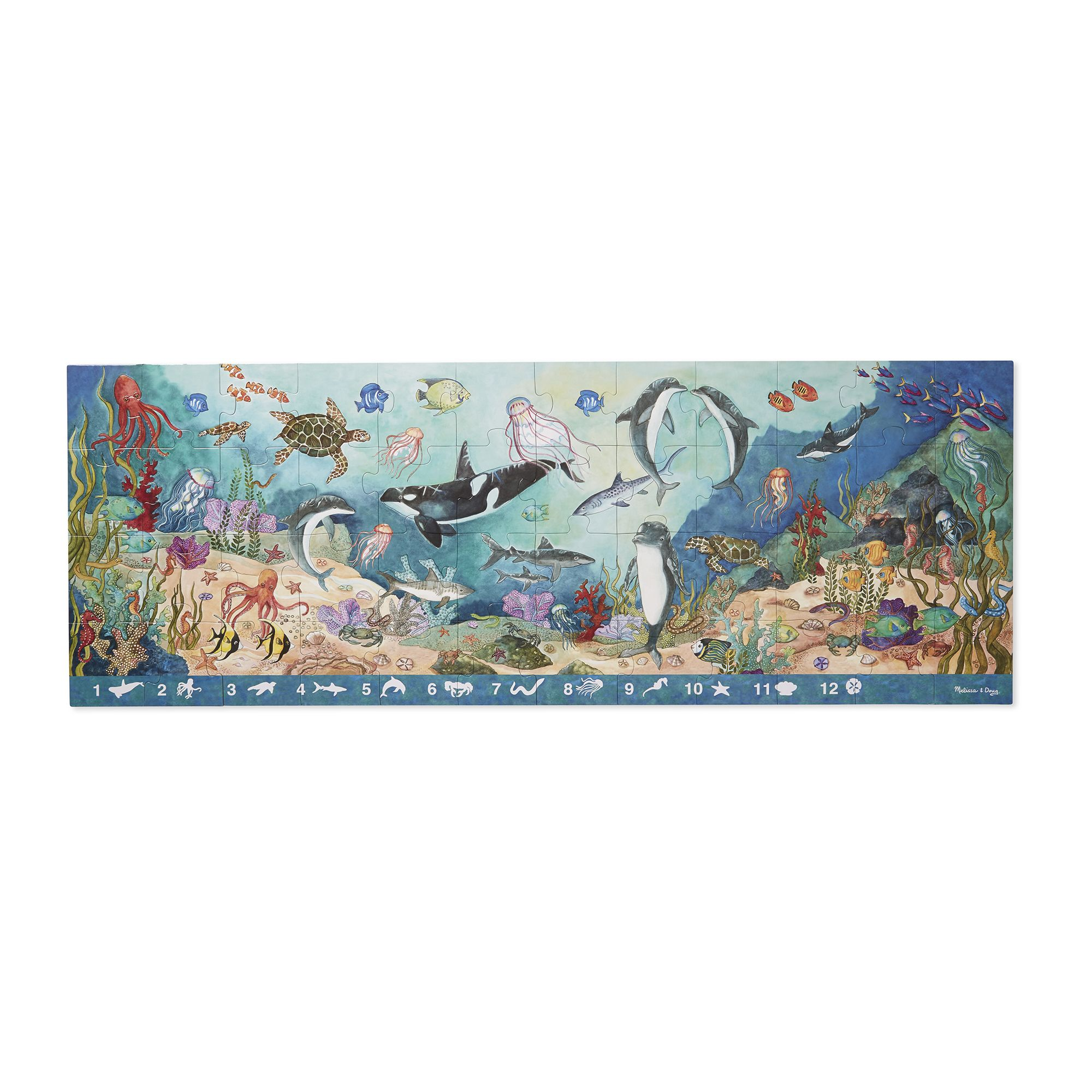 Search & Find Under the Sea Floor Puzzle - 48 pieces 4493