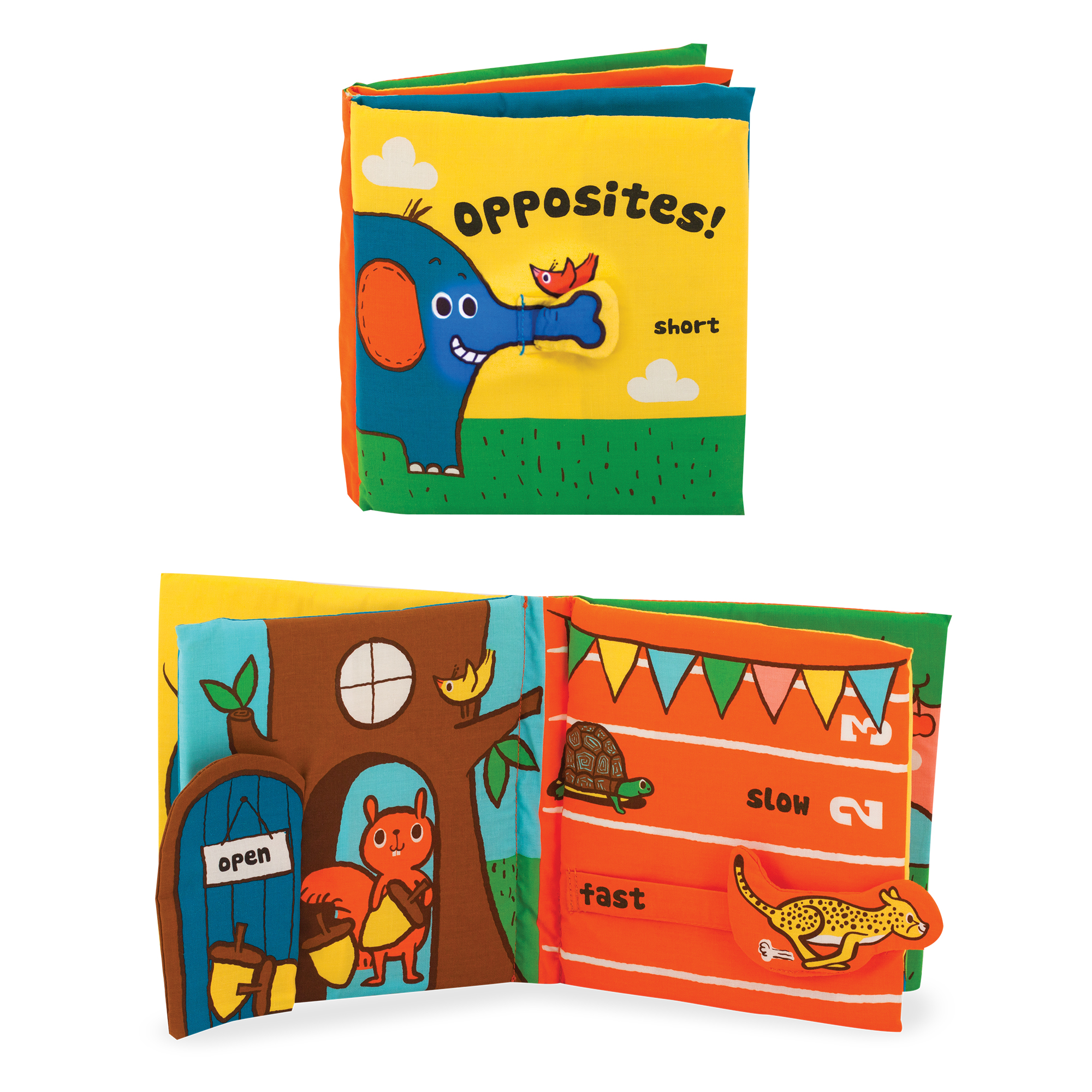 Soft Activity Book  Opposites