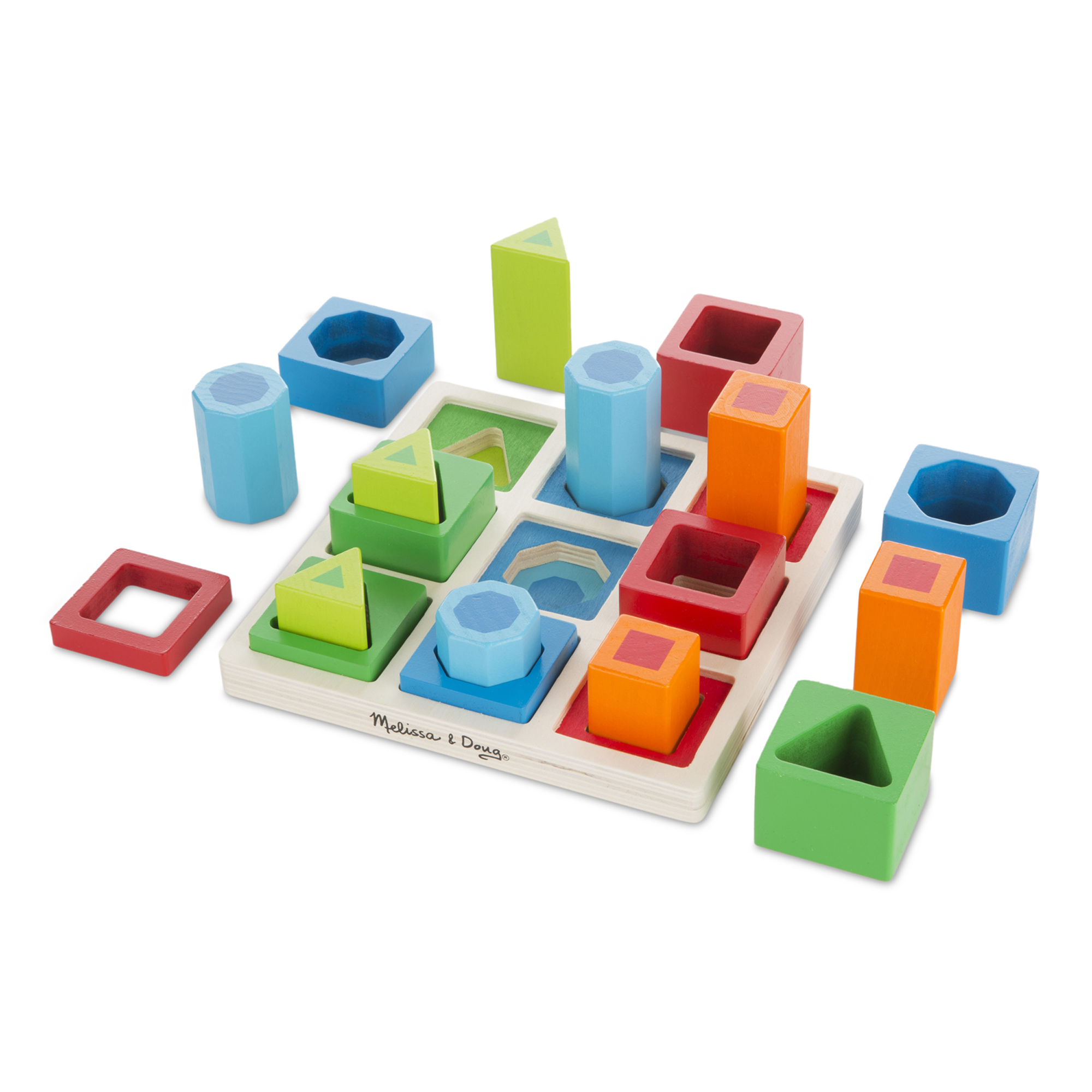 Shape Sequence Sorting Set 582