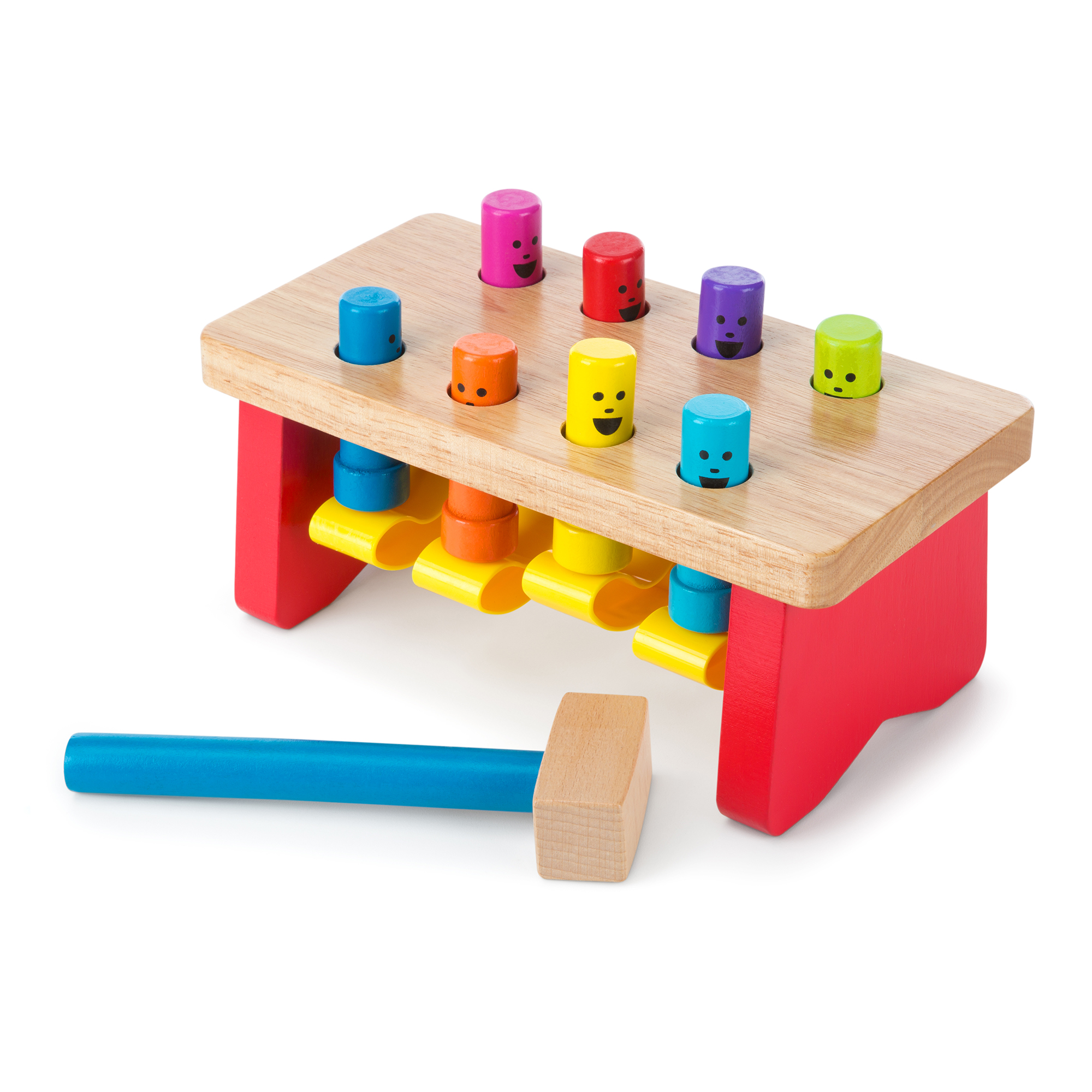 Deluxe Pounding Bench Toddler Toy 4490