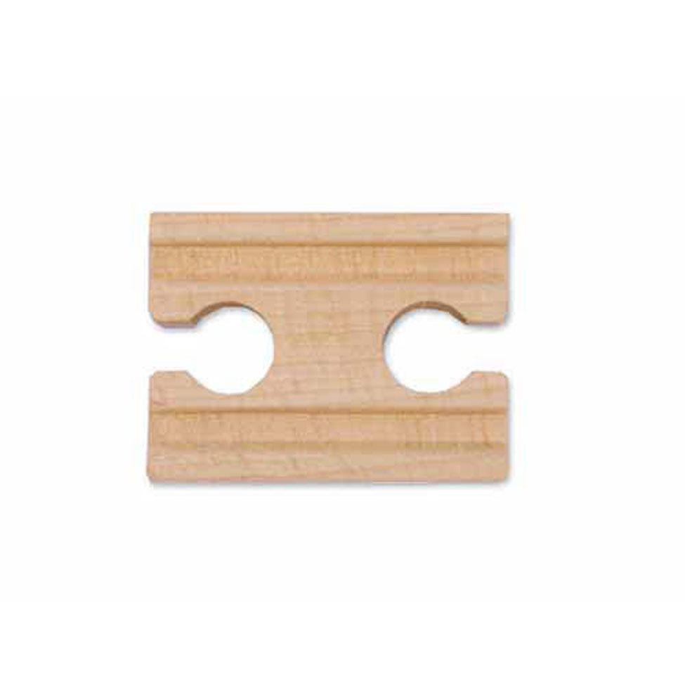2 Wooden Straight Track  Female (6 pack)