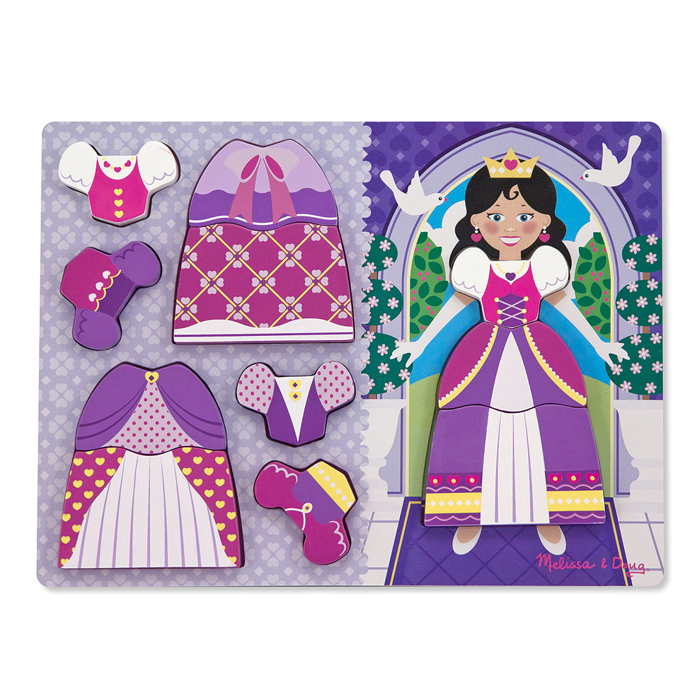 Princess DressUp Chunky Puzzle  11 pieces