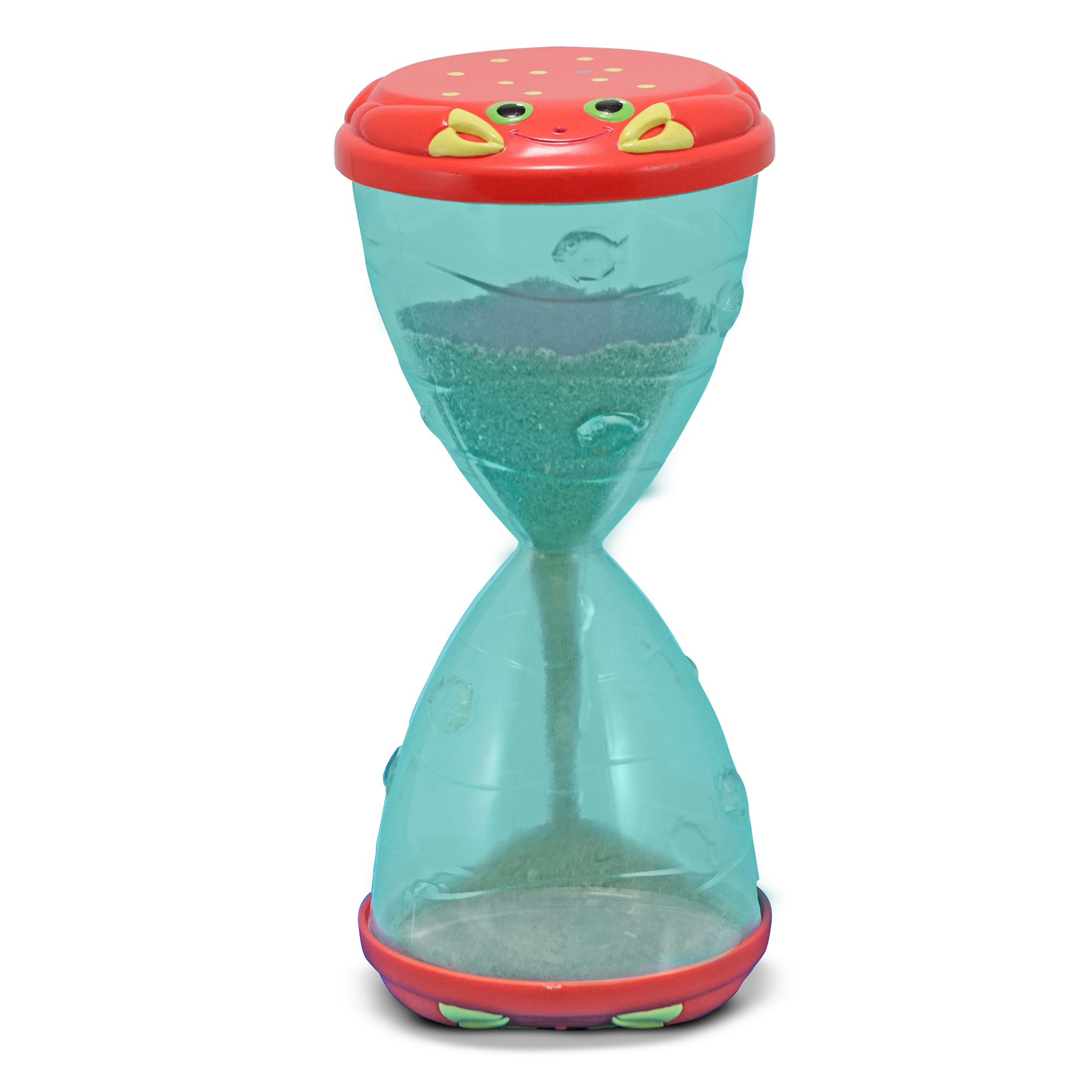 Clicker Crab Hourglass Sifter  Funnel