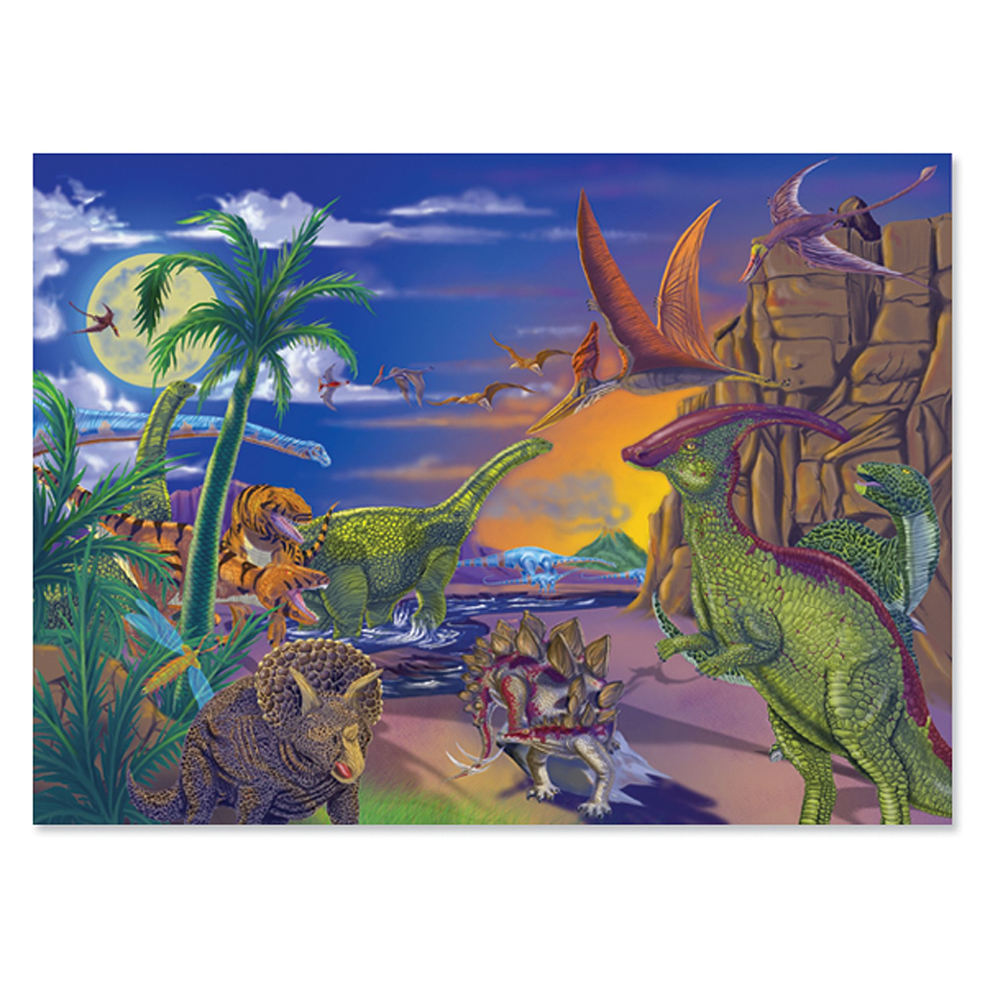 Land of Dinosaurs Jigsaw Puzzle  60 Pieces