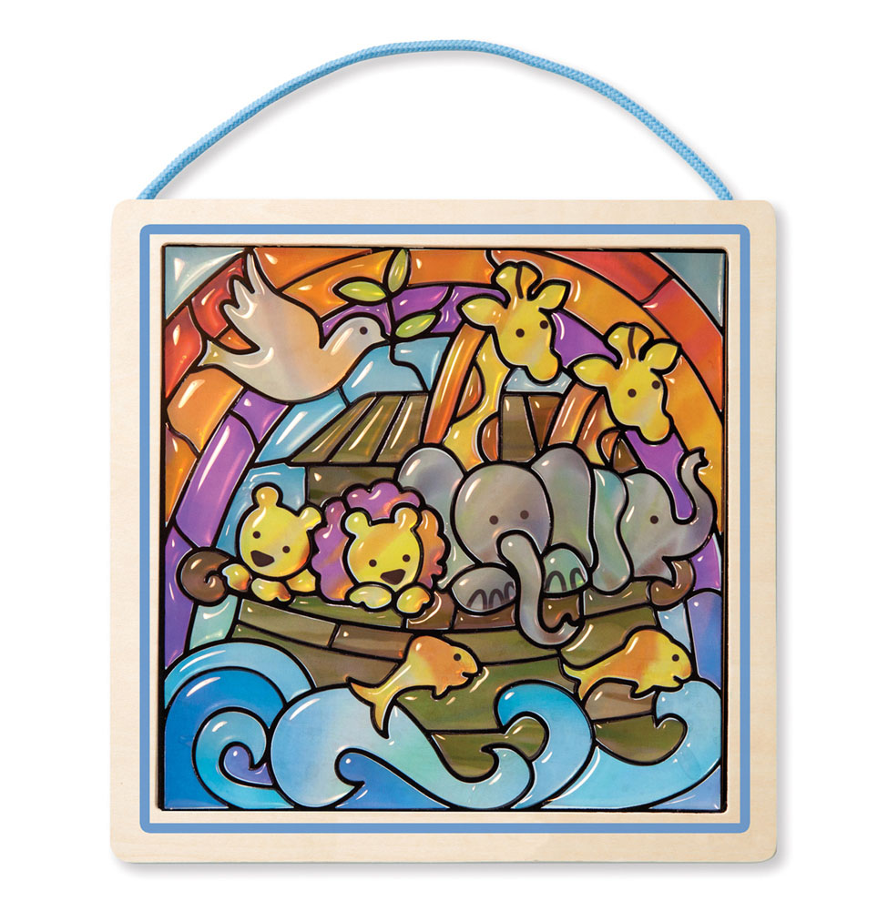 Stained Glass Made Easy  Noahs Ark