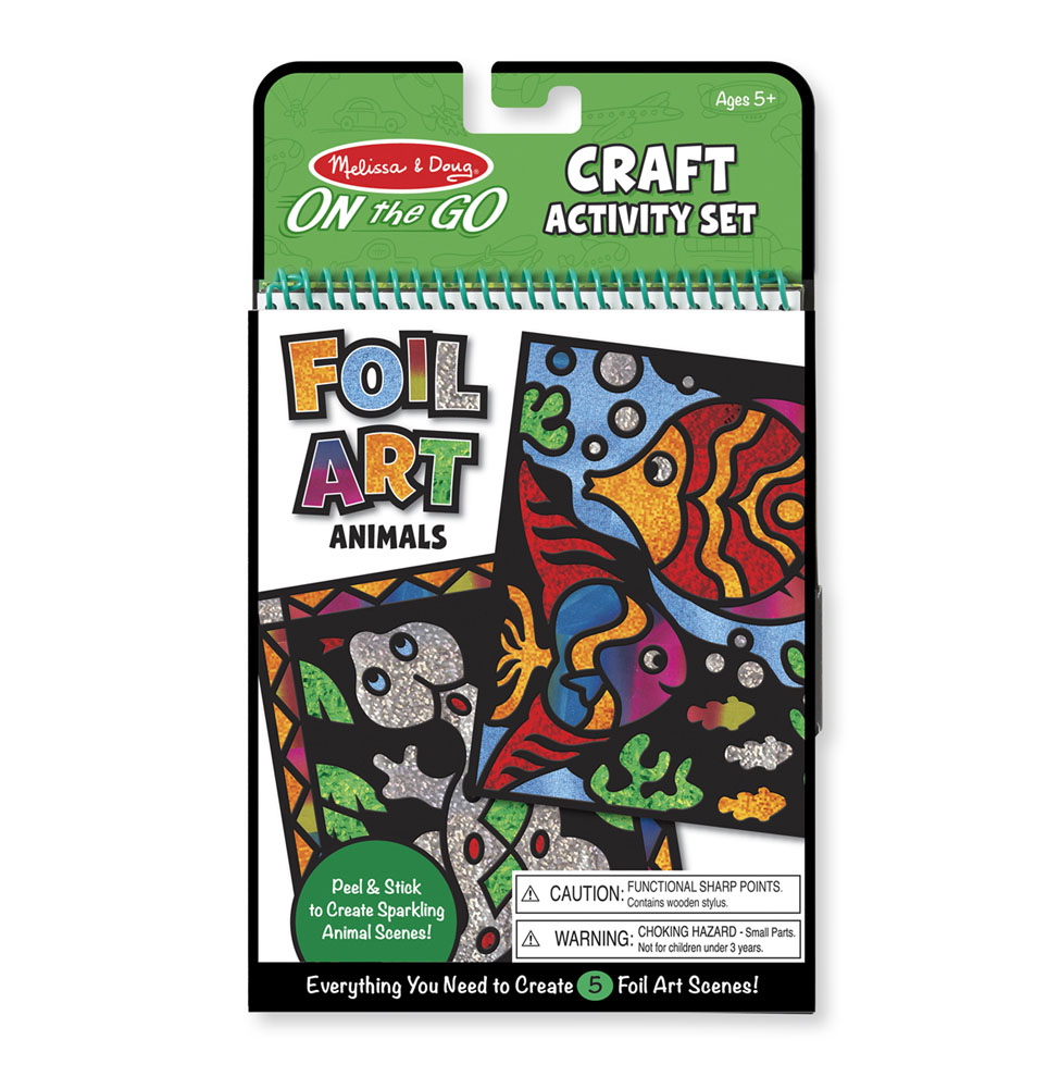 On-the-Go Crafts - Foil Art Animals 9421