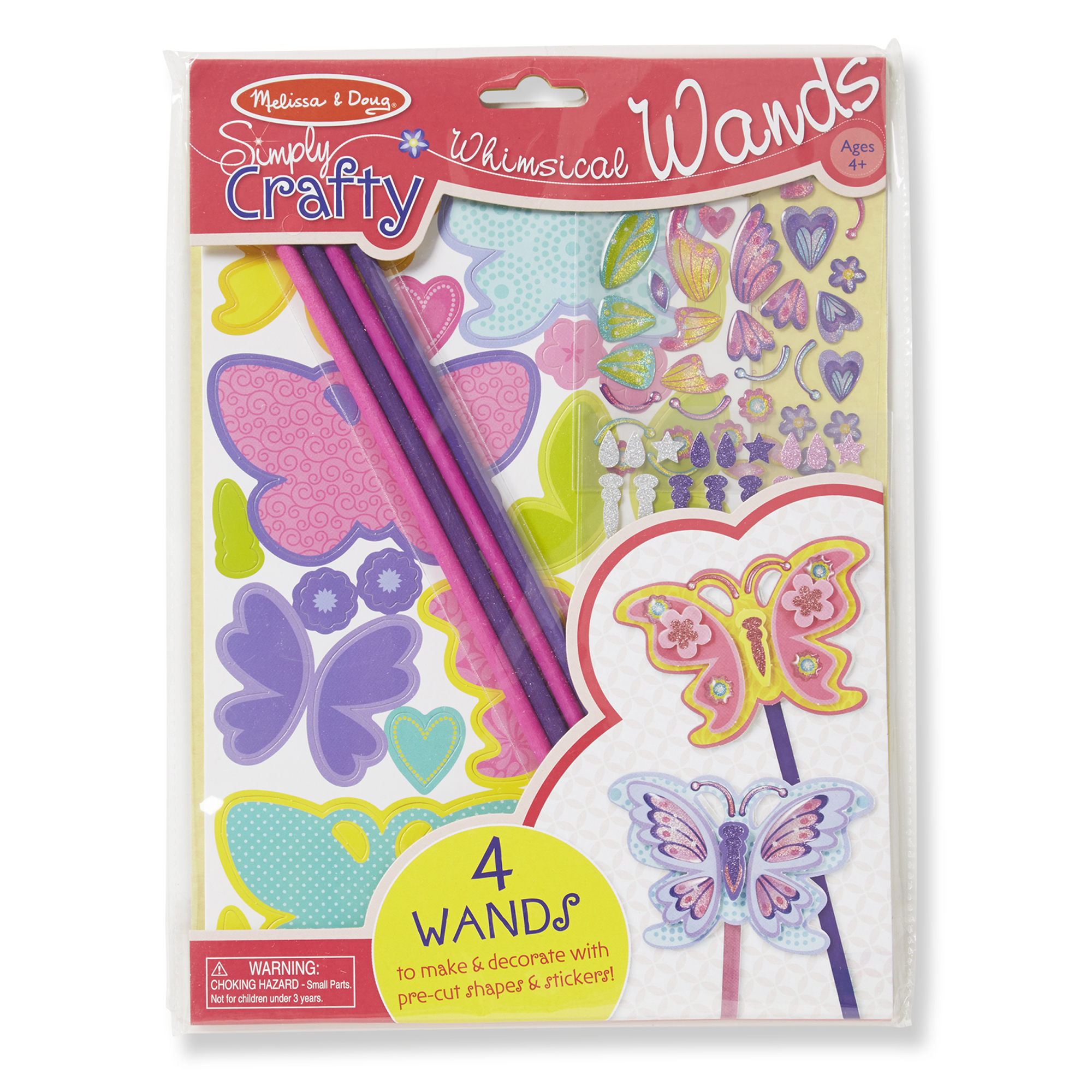 Simply Crafty  Whimsical Butterfly Wands