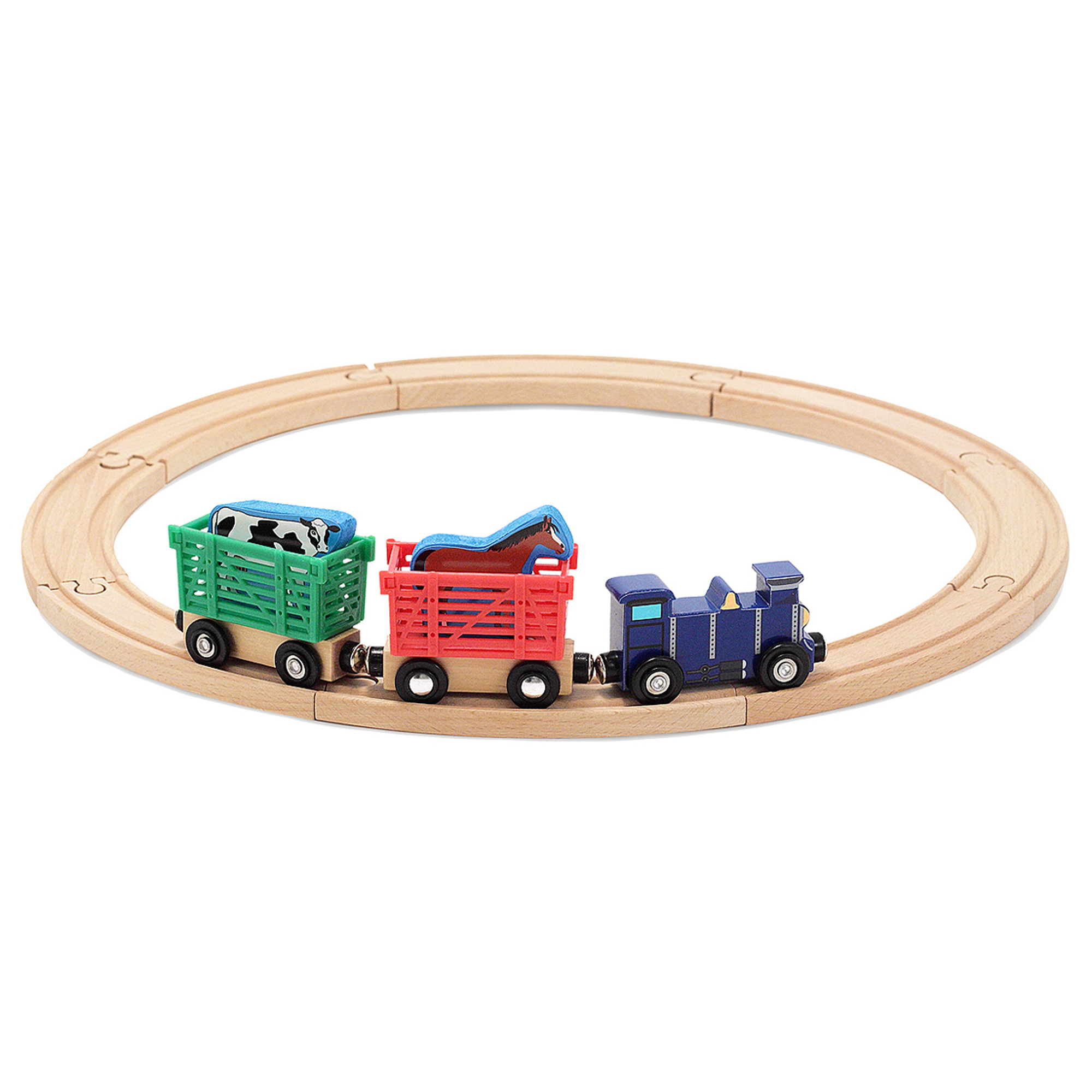 Farm Animal Train Set 644