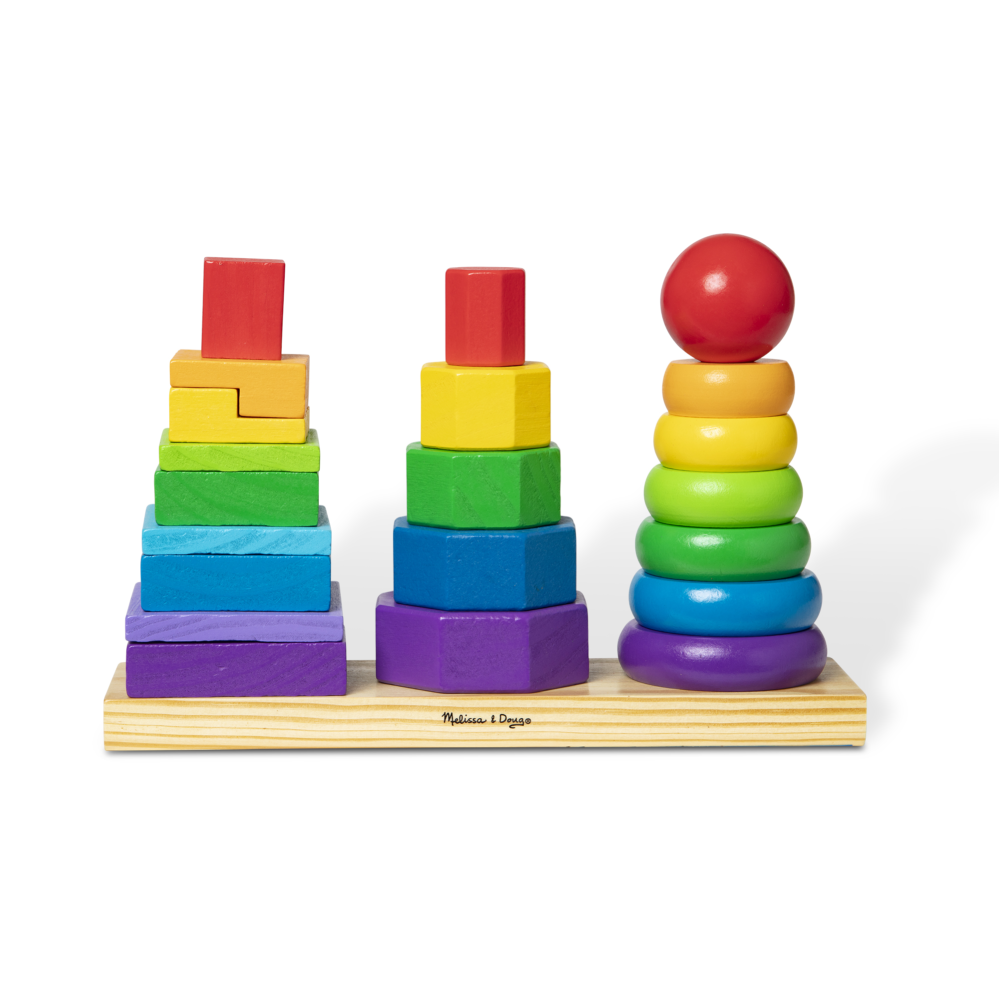 Geometric Stacker Toddler Toy 567