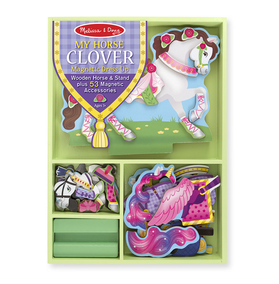 My Horse Clover Magnetic DressUp Set