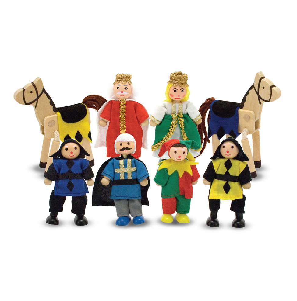 Castle Wooden Figure Set 285