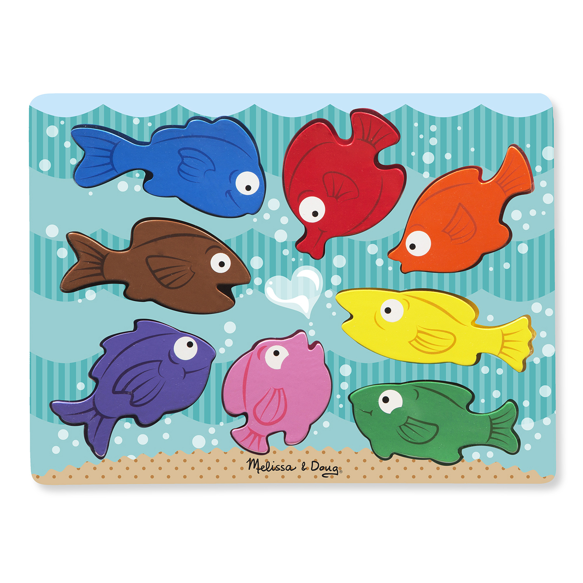 Chunky Puzzle  Colorful Fish