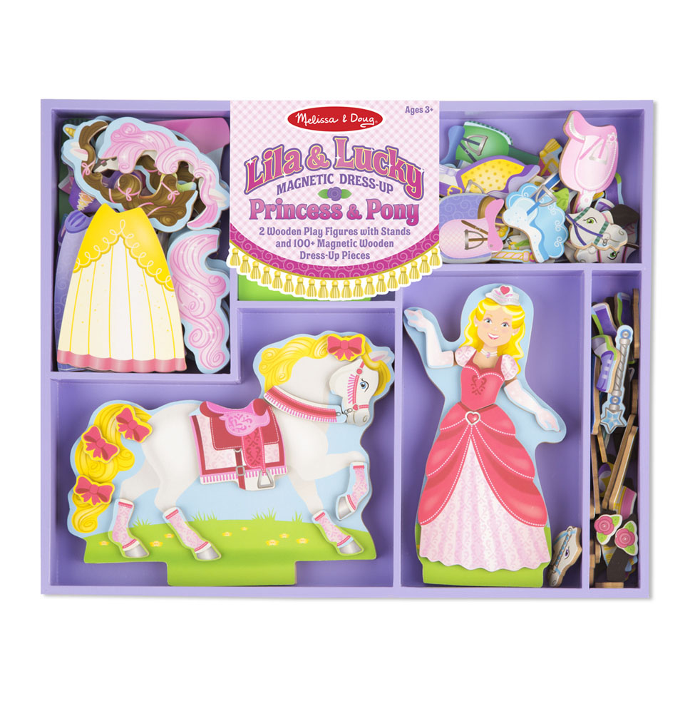 Lila  Lucky Princess  Pony Magnetic DressUp Set