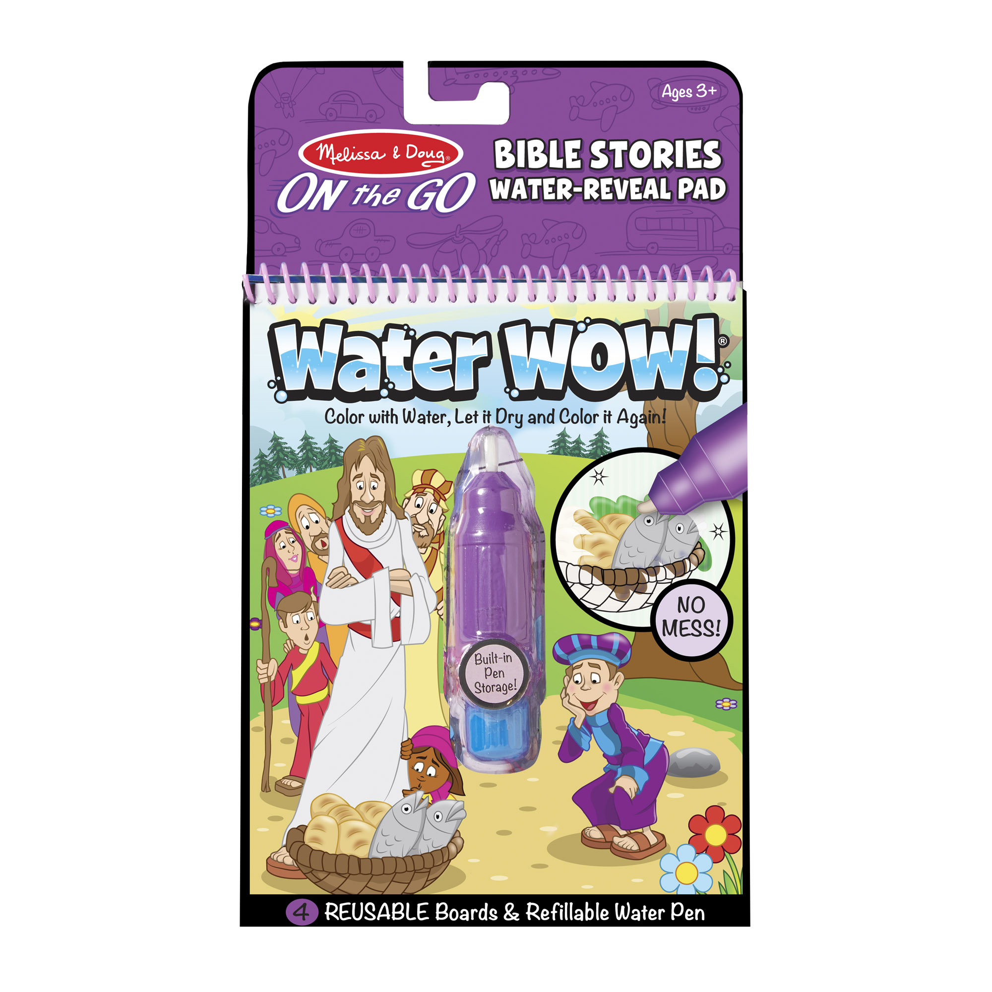 Water Wow  Bible Stories Water Reveal Pad