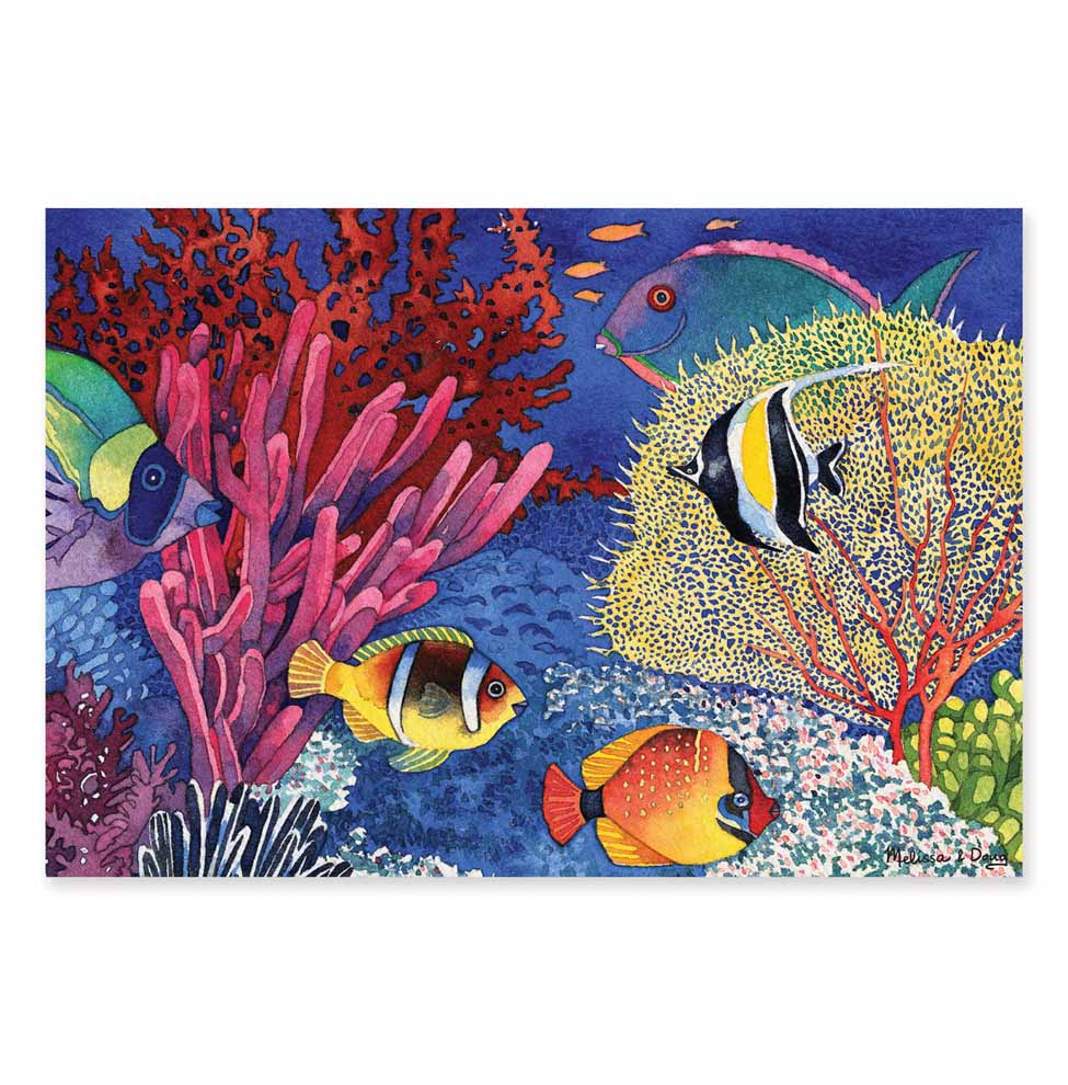 Coral Reef Cardboard Jigsaw  100 Pieces