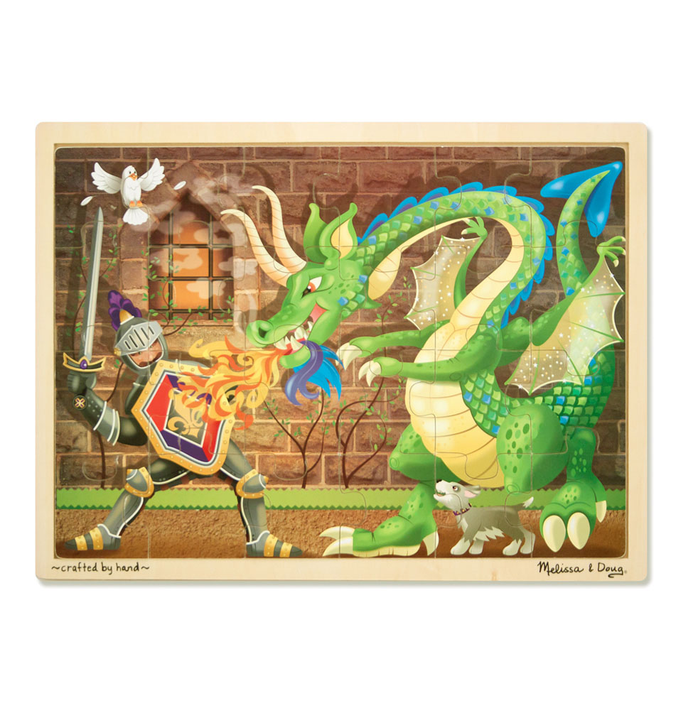 Dragon Wooden Jigsaw Puzzle  48 pieces