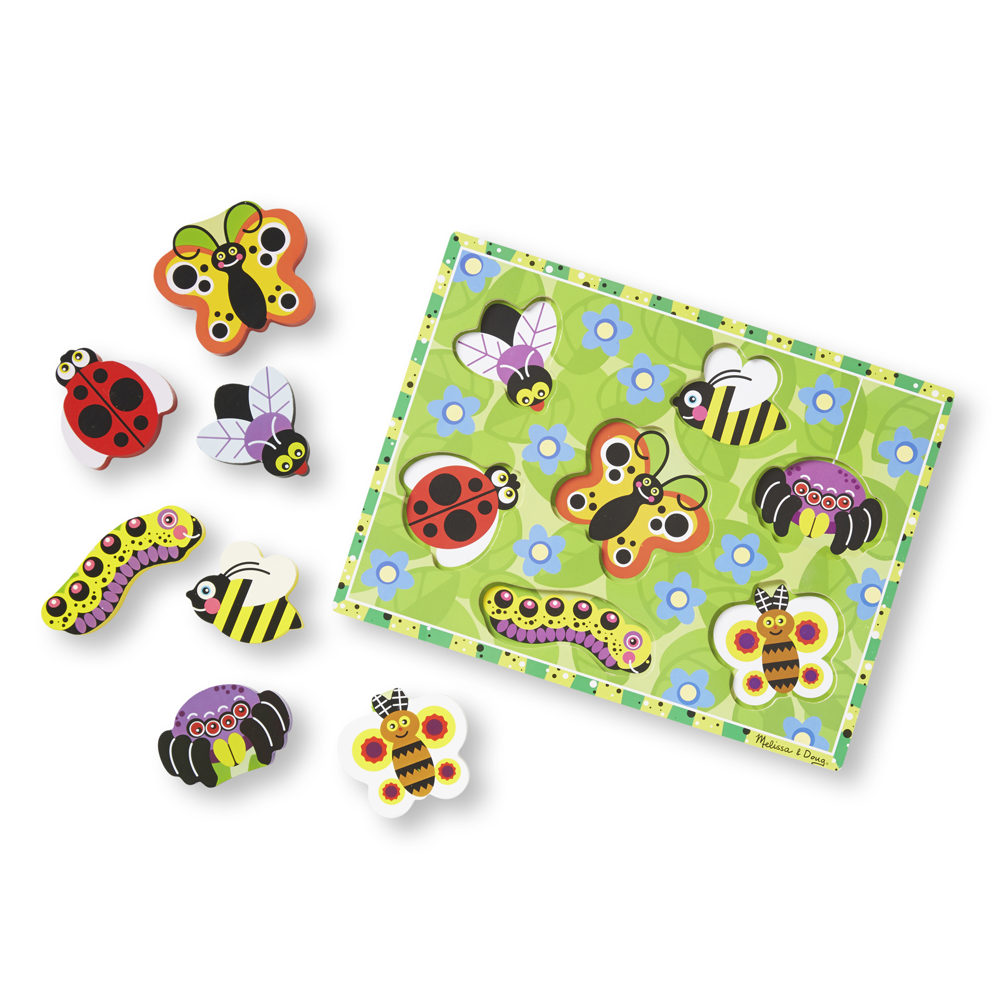Insects Chunky Puzzle  7 Pieces