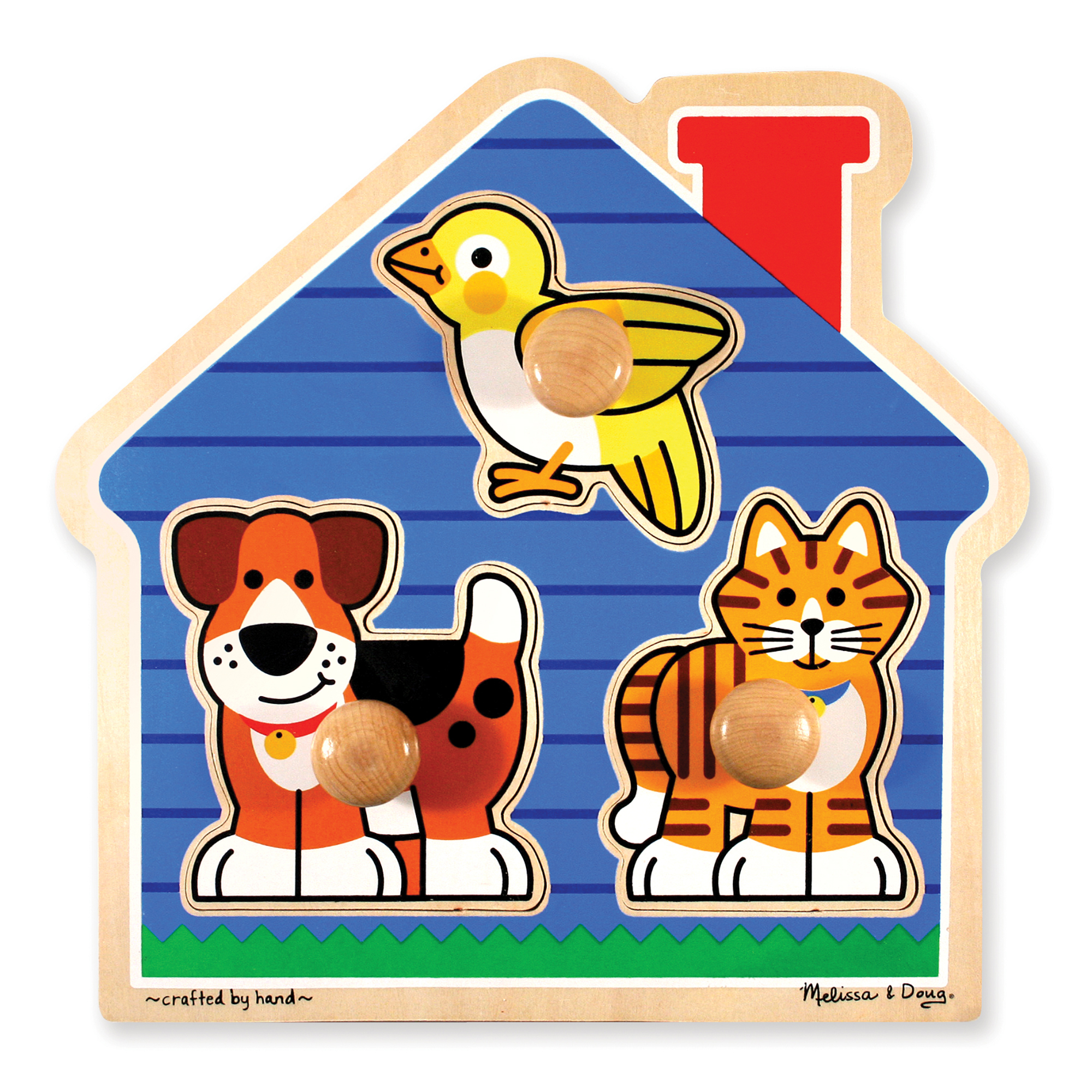 House Pets Jumbo Knob Puzzle - 3 Pieces 2055