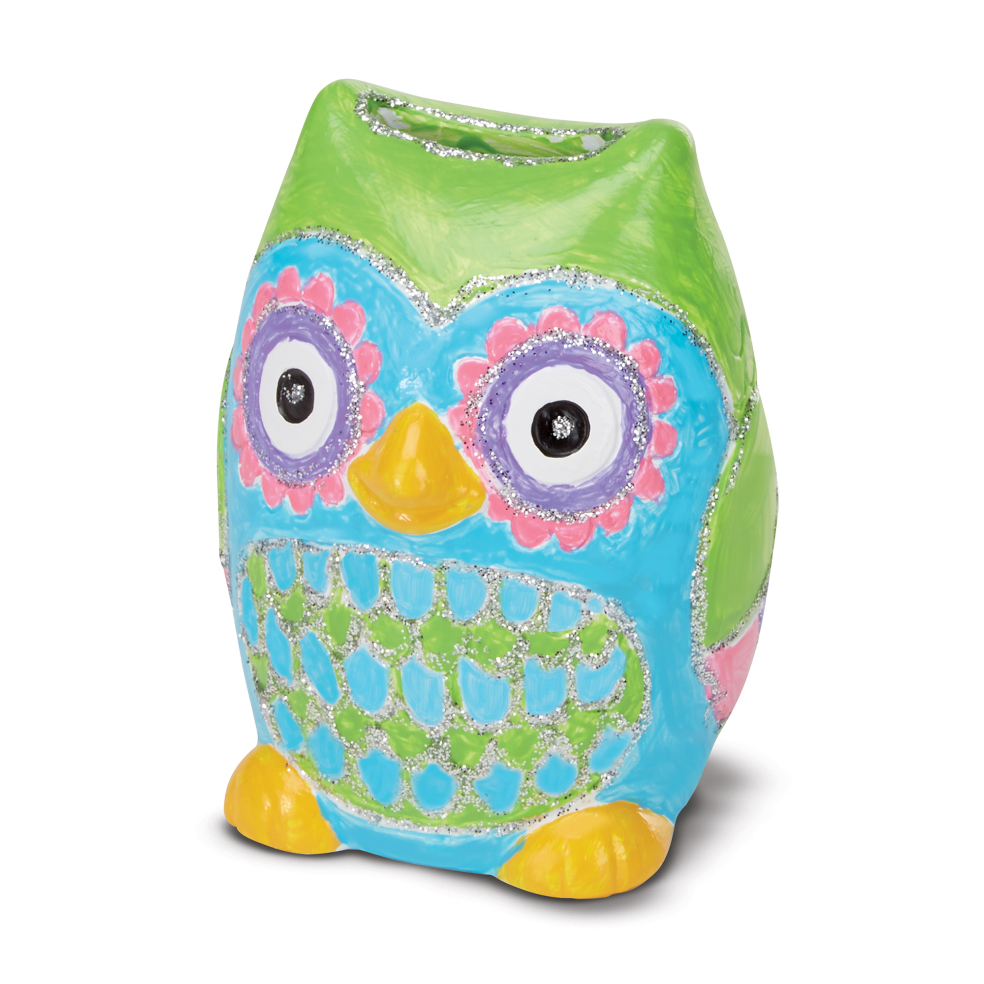 DecorateYourOwn Owl Bank