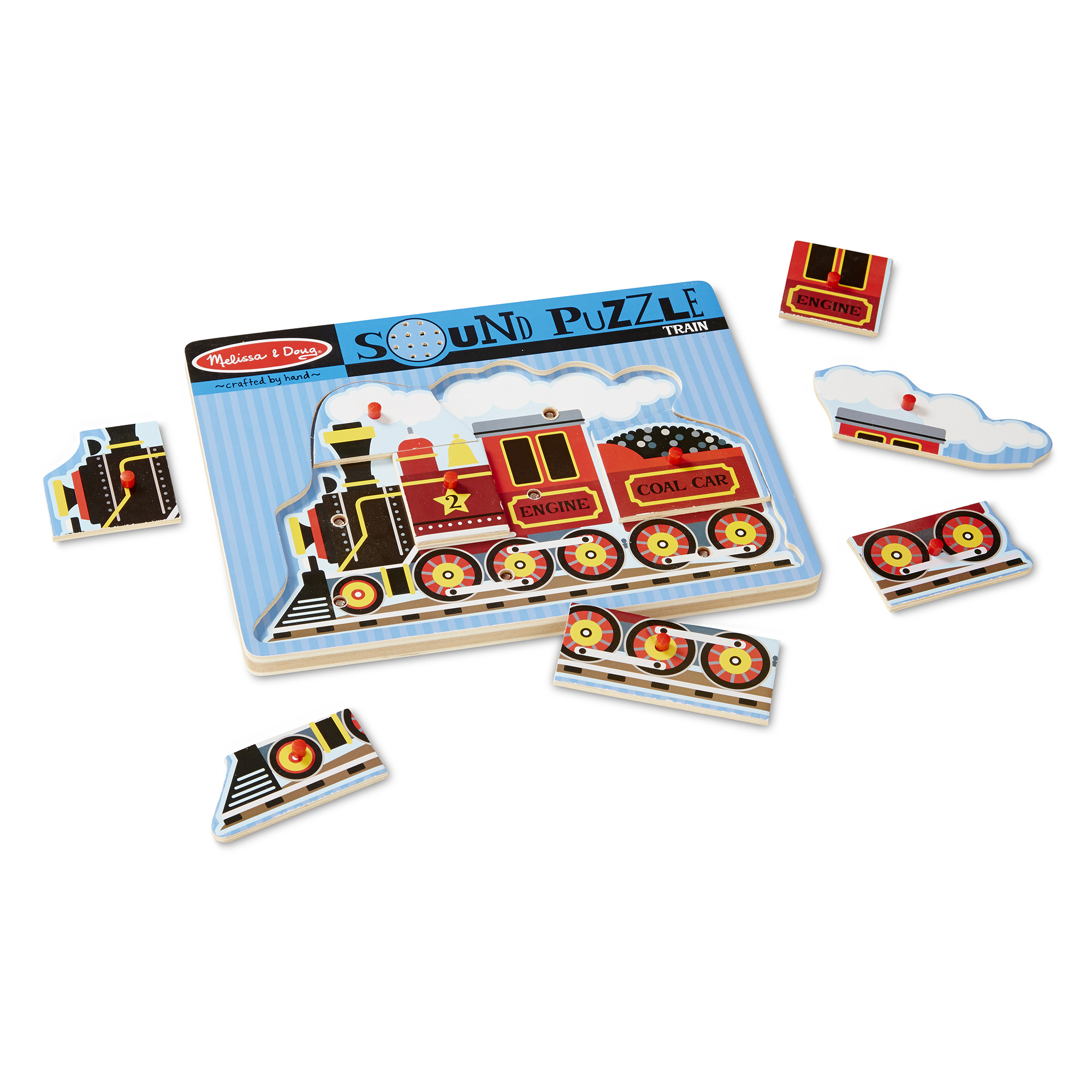 Train Sound Puzzle  9 Pieces