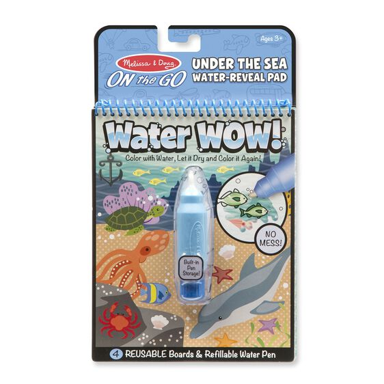 Water Wow Under The Sea Water Reveal Pad On The Go Travel Activity