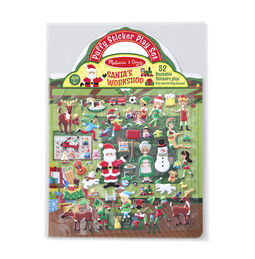 Puffy Stickers - Santa's Workshop