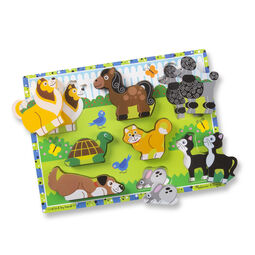 Eight piece pets chunky puzzle