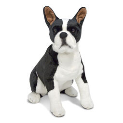 Boston Terrier stuffed animal