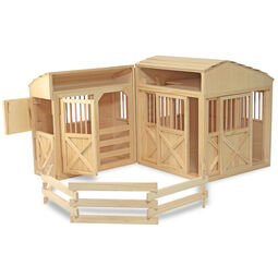 Folding Horse Stable